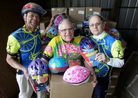 March Madness miles become helmets for kids