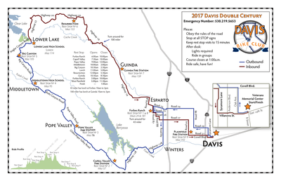 2017 Davis Double Route (tentative)