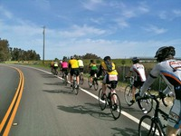 A club ride heads out